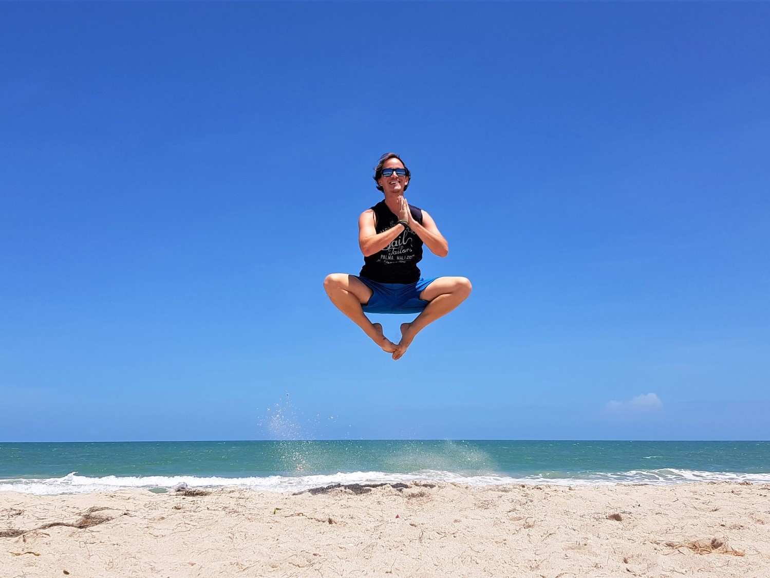 Riohacha Colombia Jumping Marco