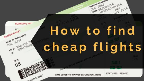 How To Find Cheap Flighs