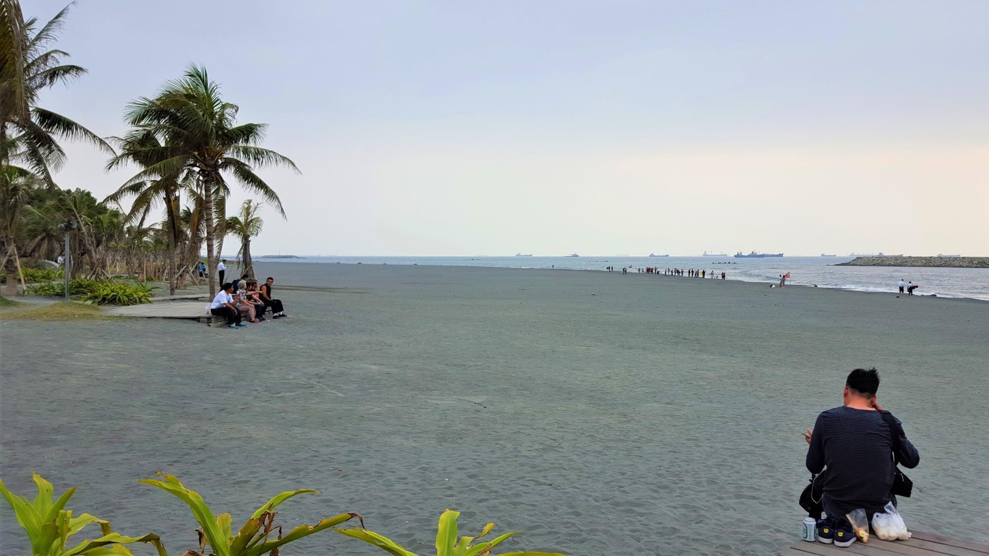 Cijin Beach Kaohsiung Taiwan