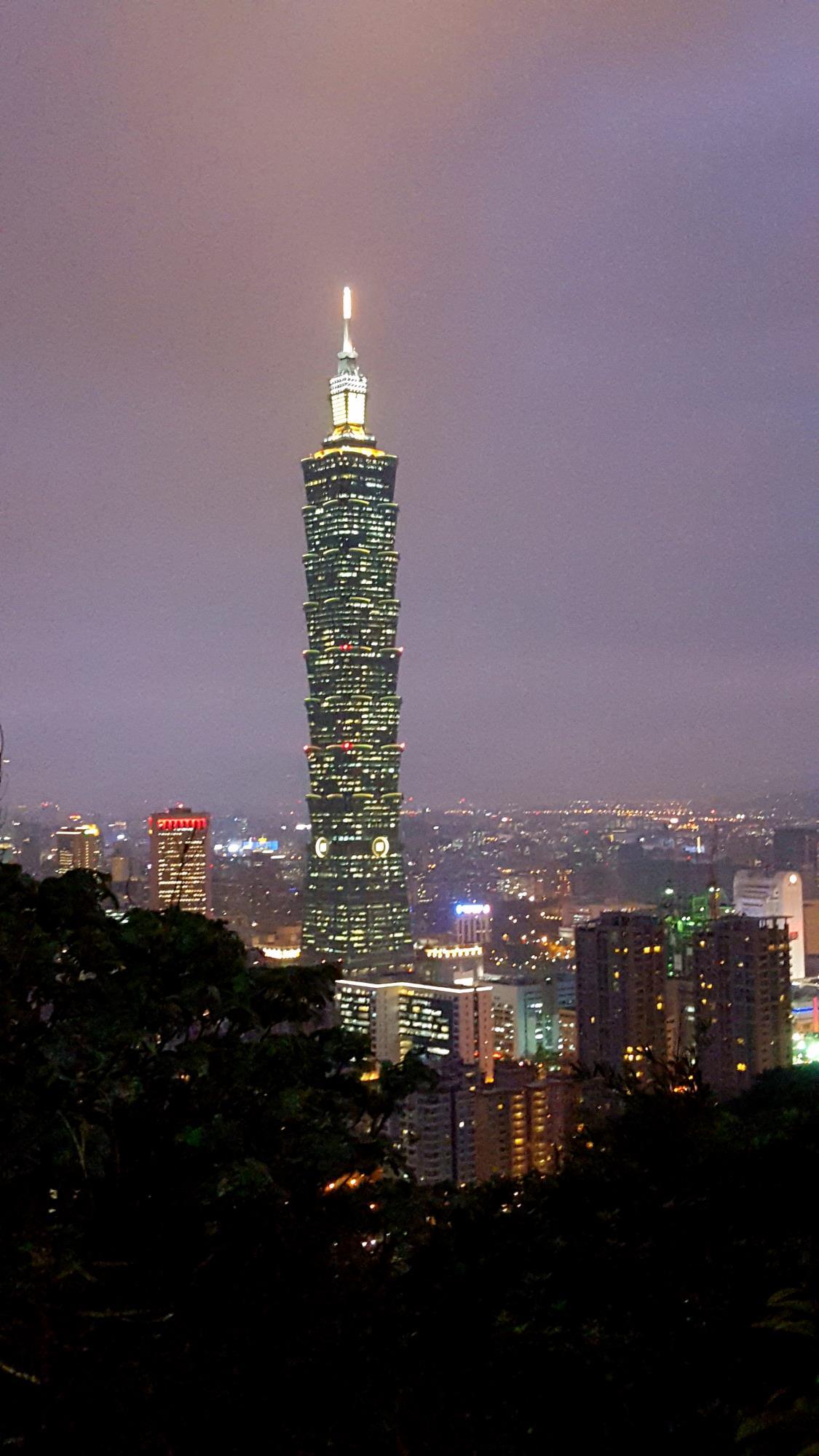 Elephant Mountain Taipei Taipei101 Taiwan
