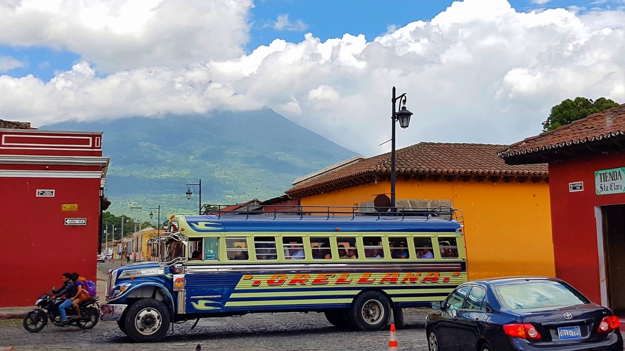 Transportation in Guatemala how to get to antigua