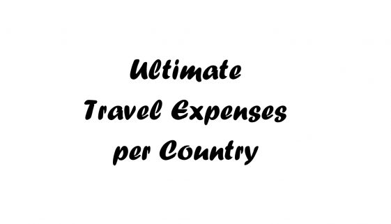 Ultimate Travel Expenses Per Country_Featured Image