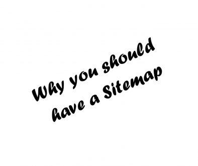 Why you should have a Sitemap