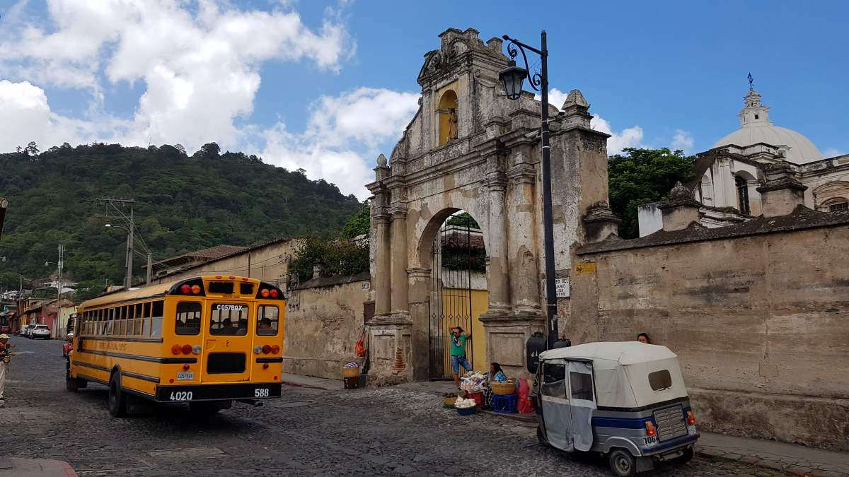 things to do antigua guatemala transportation chicken bus