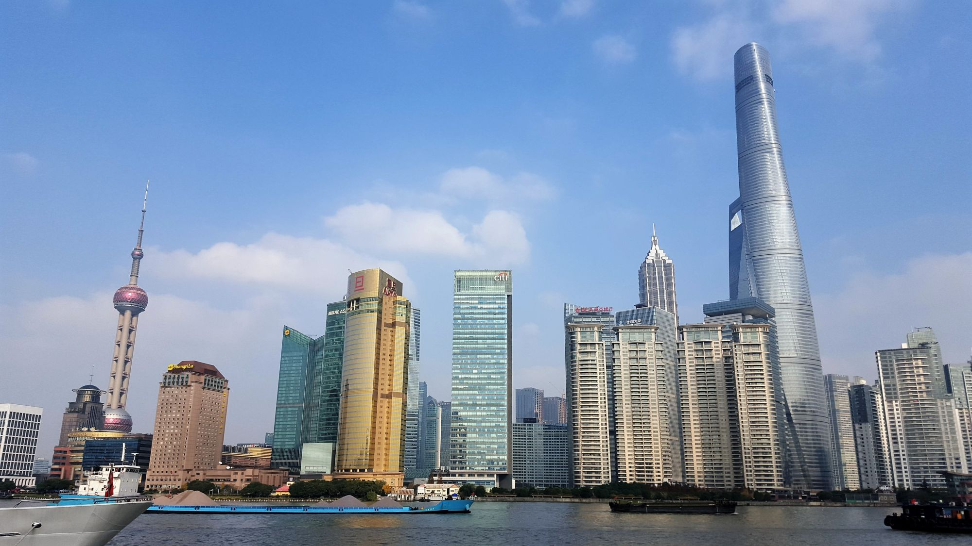Things to do in Shanghai City Guide the bund Pudong Promenade shanghai skyline