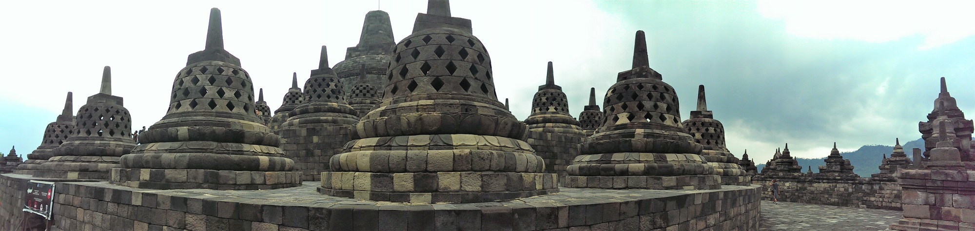 Things to do in Yogyakarta City Guide Borobodur Temple Indonesia Panorama