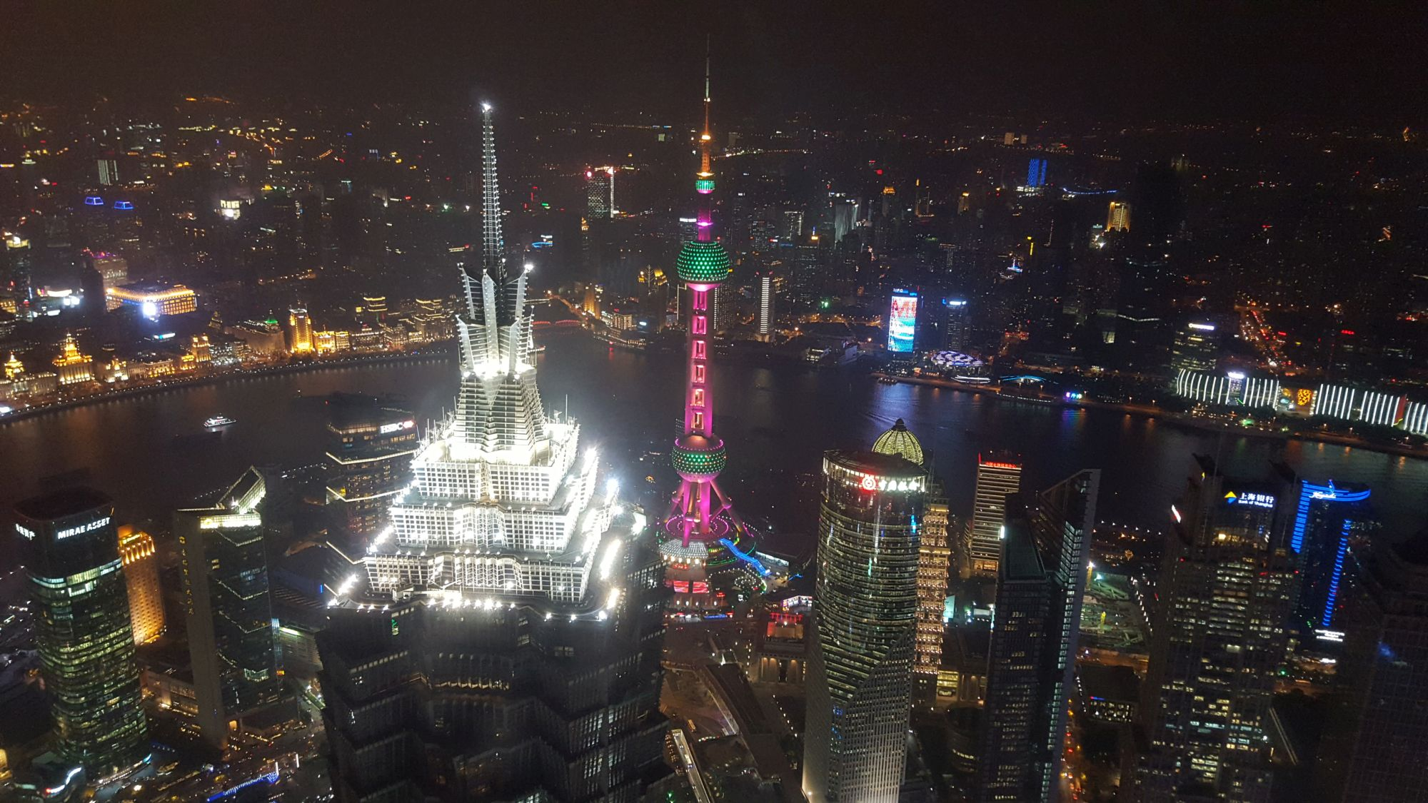 top things to do shanghai city guide Shanghai World Financial Center Observation deck night