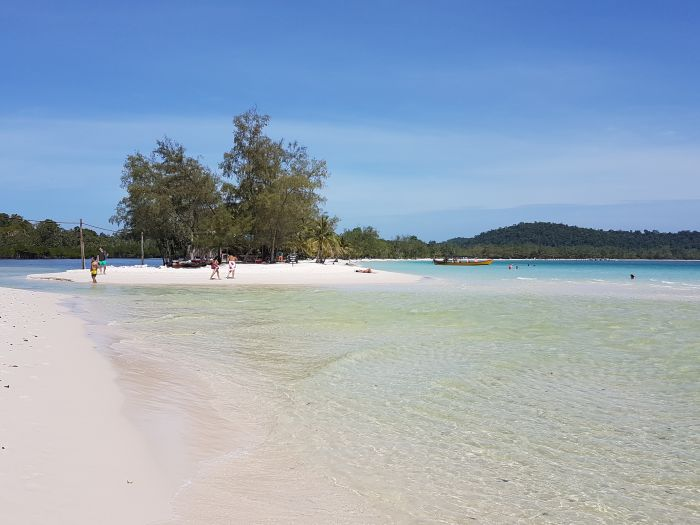Things to do in Cambodia Koh Rong beach