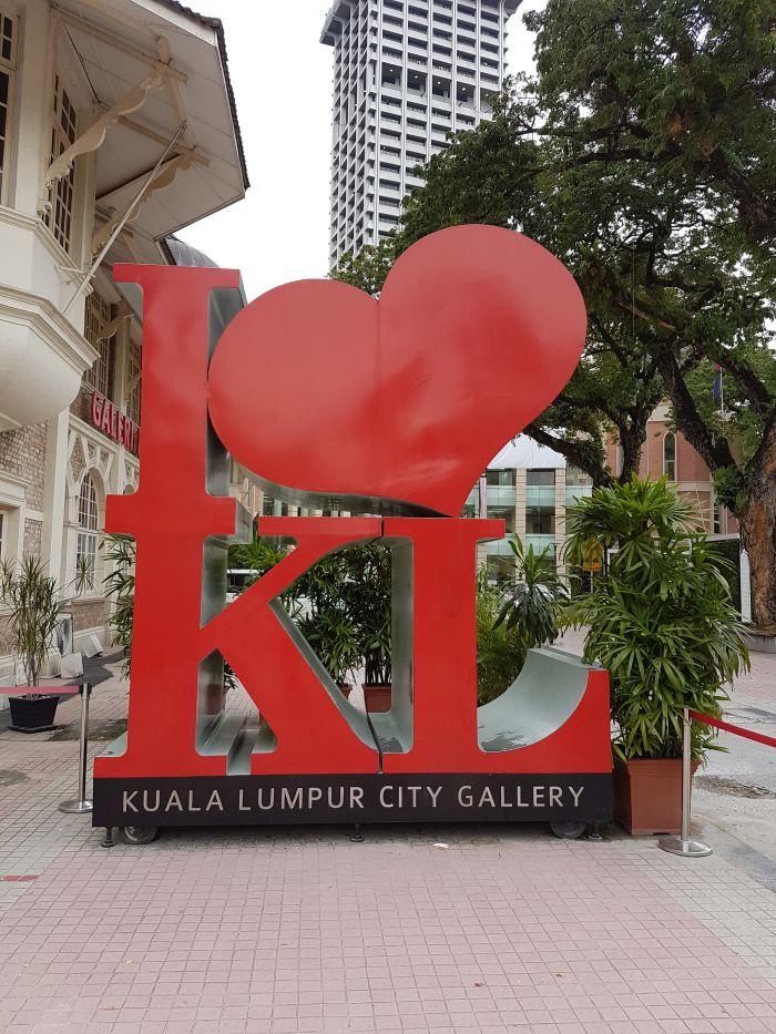 kuala lumpur city guide Things to do Kuala Lumpur Malaysia i love KL sign