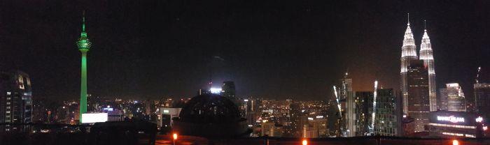 kuala lumpur city guide Things to do Kuala Lumpur Malaysia skyline heli pad lounge
